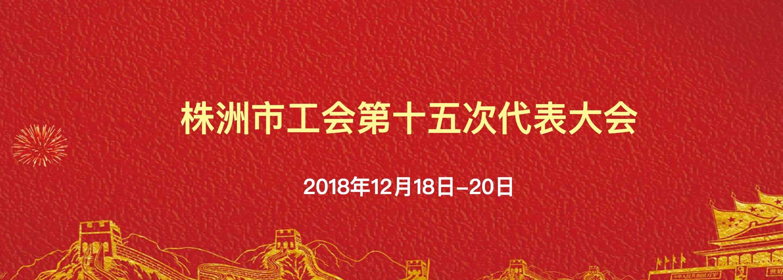 株洲工会第十五次代表大会